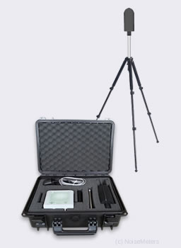 Portable Wireless Monitoring Noise Meter